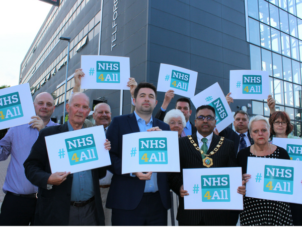Join our campaign for a better NHS for everybody