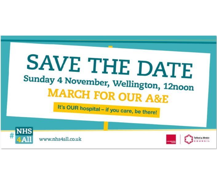 March for our A&E - Sunday 4 November