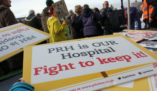 3,000 people March for our A&E